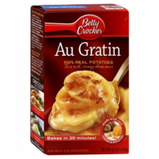 Au Gratin Made w/ 100% Real Potatoes in Rich, Creamy Cheese Sauce