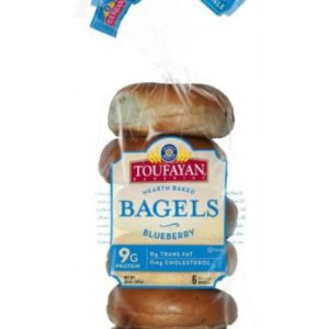 Toufayan Blueberry Bagels