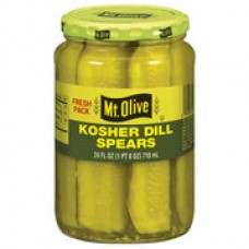 Mt. Olive Kosher Dill Spears Pickles, 16 fl oz