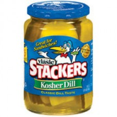 Vlasic Sandwich Stackers Kosher Dill Pickles