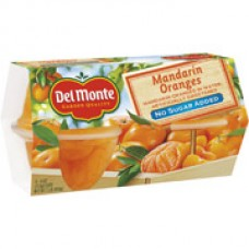 Del Monte Mandarin Orange Fruit Cups,