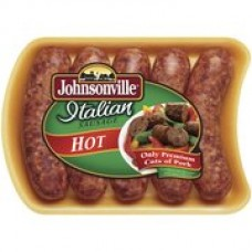 Johnsonville Sausage Hot Crushed Red Pepper And Spices Italian Sausage