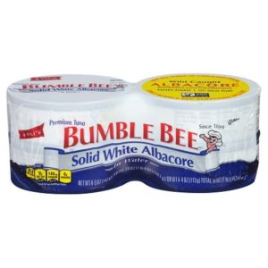 Bumble Bee Solid White Albacore Tuna in Water 5 oz - 4 pk