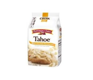 Pepperidge Farm Tahoe White Chocolate Macadamia Cookies 7.2 oz. Bag