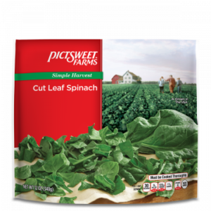 Pictsweet Farms Simple Harvest 12 oz. Cut Leaf Spinach